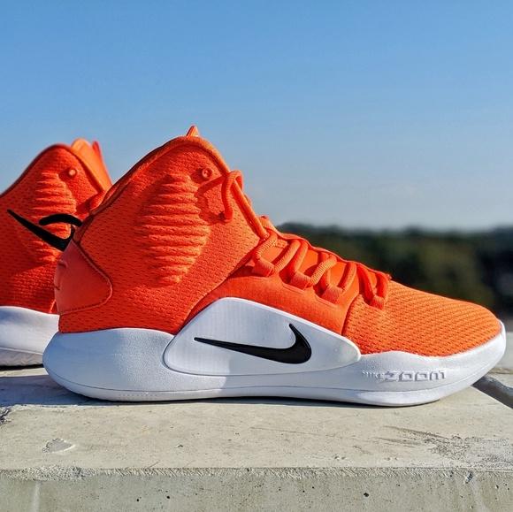 Nike Other - Nike Hyperdunk X TB orange white size 11 - new